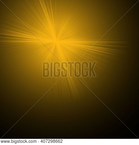 Overlay, Flare Light Transition, Effects Sunlight, Lens Flare, Light Leaks. High-quality Stock Image