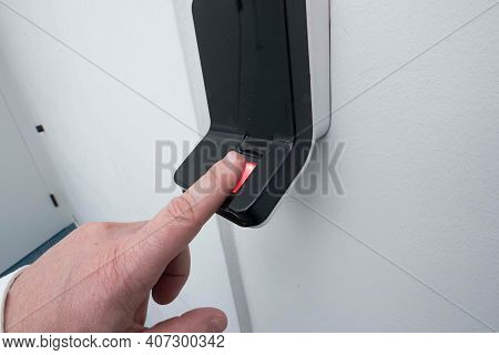 Fingerprint As Key For A Door
