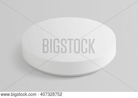 Wireless speaker mockup digital device