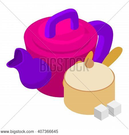 Kitchenware Icon. Isometric Illustration Of Kitchenware Vector Icon For Web