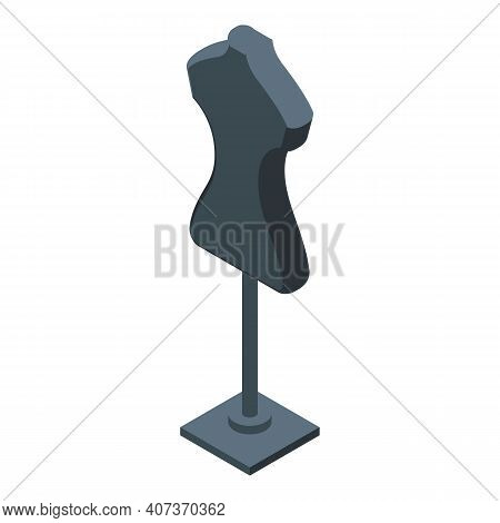 School Uniform Mannequin Icon. Isometric Of School Uniform Mannequin Vector Icon For Web Design Isol