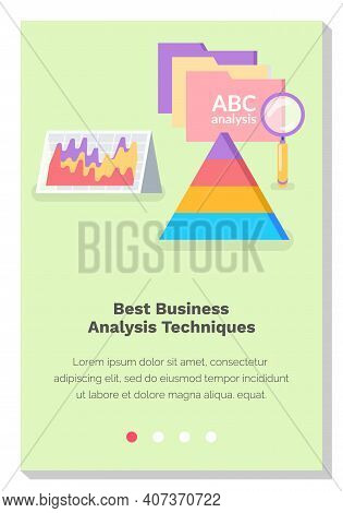 Website With Best Business Analysis Techniques. Diagrams And Graphics Of Analytical Processes. Site