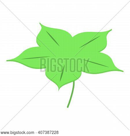 Green Clover Icon. Isometric Of Green Clover Vector Icon For Web Design Isolated On White Background