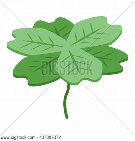 Grass Clover Icon. Isometric Of Grass Clover Vector Icon For Web Design Isolated On White Background