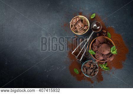 Dark Chocolate Ice Cream