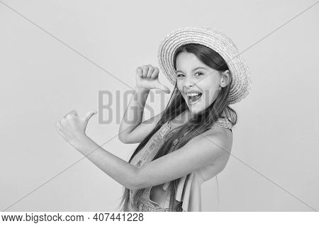 I Am Cool. Fashionably Dressed Girl. Enjoying Vacation. Good Vibes. Beach Style. Beauty In Hat. Port