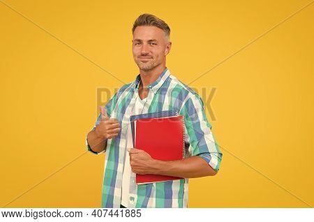 Free Courses. Keep Learning. College University Education. Man Adult Student. Graduation Concept. De