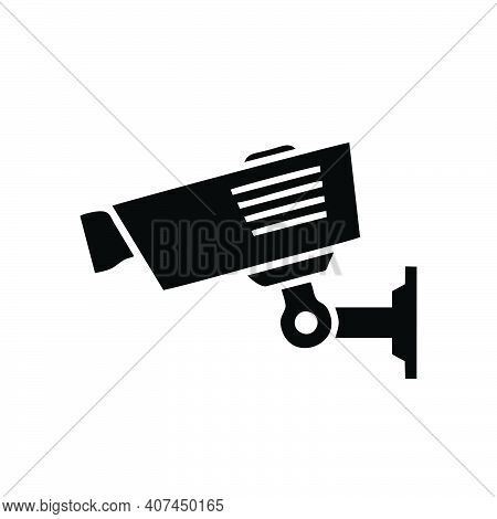 Cctv Camera Icon Isolated On White Background From Electronics Collection. Trendy Cctv Camera Icons