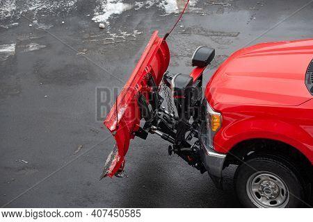 Snow Truck Car Glean Street Remove Cold Winter