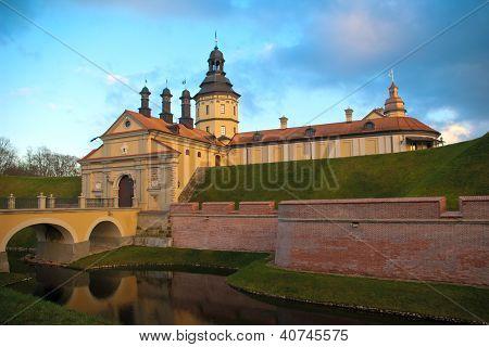 Castle In Nesvizh, Belarus
