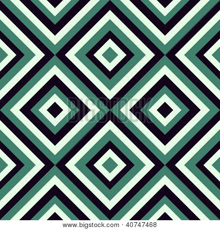 Fashion pattern in viridian color