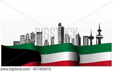 Kuwait National Day2021-15-01.eps