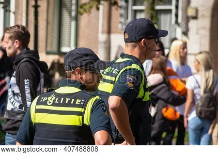 06 September 2020, Hague, Netherlands, Peaceful Protest Organized By Anti-pedophilia Activists And B
