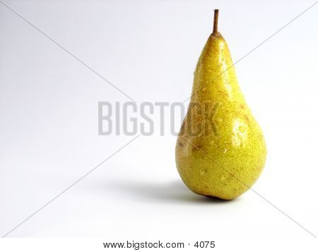 Pear On White Background