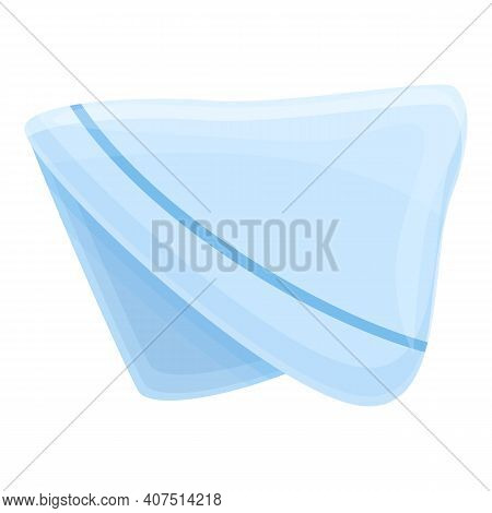 Paper Handkerchief Icon. Cartoon Of Paper Handkerchief Vector Icon For Web Design Isolated On White