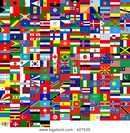 Flags Of The (240 Flags)