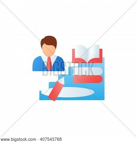 Learning Zone Flat Icon. Route To Success. Self Improvement And Self Realization. Business And Caree