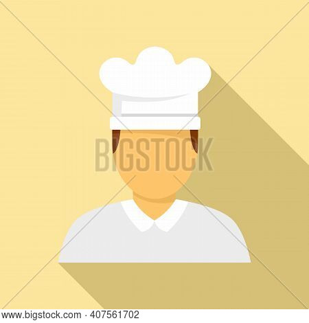 Cook Icon. Flat Illustration Of Cook Vector Icon For Web Design