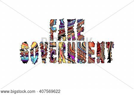 Fake Government, Banner, Poster And Sticker, With Clipping Path