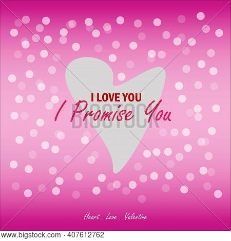11 February, Promise Day Vector Design. Celebrate Before Valentine's Day. I Love You. Friends For