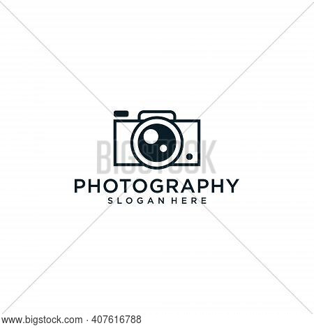 Vintage Video Camera Logo Design For Cinema Production. Logo Can Be Used For Icon, Brand, Identity,