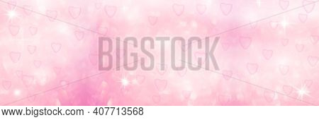 Defocused Delicate Pink Background.delicate White-pink Delicate Background. Background For Valentine
