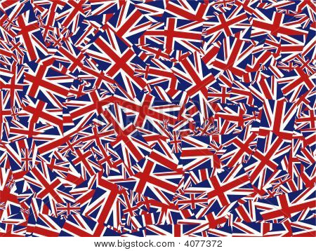 Union Jack Collage