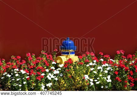Firehydrant With Landscaping
