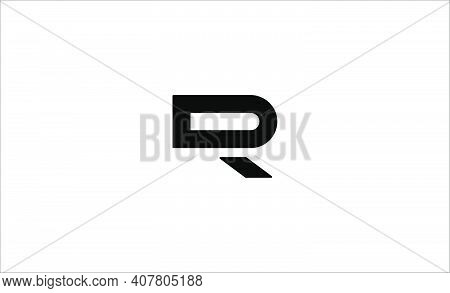 Dr Rd Initial Logo Design Vector Illustration