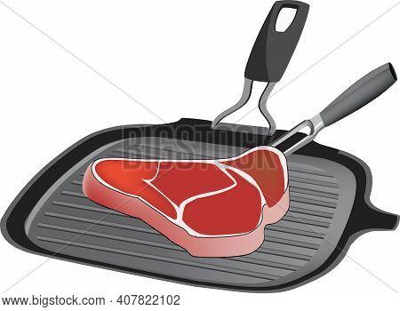 Grilled Steak Maker With Steak Grilled Steak Maker With Steak