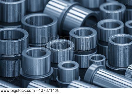 The Spare Parts Of Steel Bushing For Die Component. The Standard Part For Die Manufacturing Process.