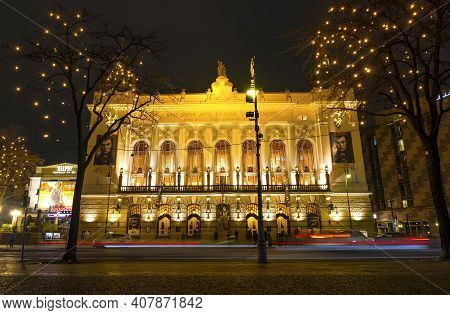 Berlin, Germany - December 17, 2018: Theater Des Westens (theatre Of The West), One Of The Most Famo