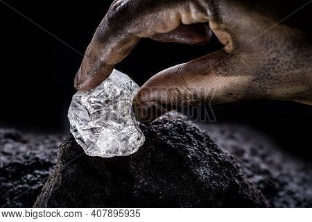 Petalite, Petalite Or Castorite Is An Important Mineral For Obtaining Lithium, Battery Industry, Lit
