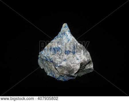 Mineral Blue Lapis Lazuli Semi-precious Turquoise Stone.