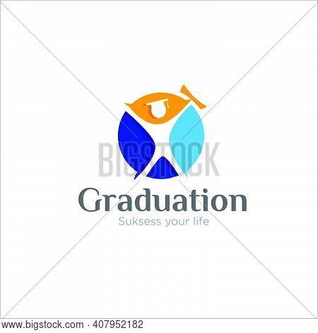Spirit Graduation Logo Designs For School,learning And Spirit