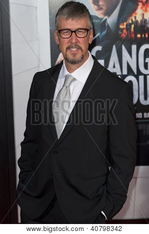 LOS ANGELES, CA - JANUARY 7: Alan Ruck arrives at the premiere of Gangster Squad at Grauman's Chinese Theatre in Los Angeles, CA on January 7, 2013