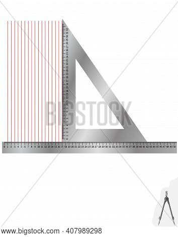 Лінійка метал+косинець2