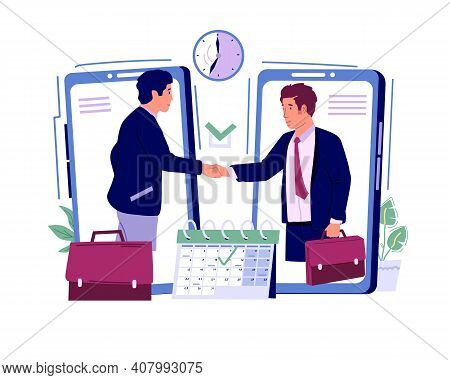 Appointment. Online Registration For Organization Business Meeting. Effective Schedule Planning And