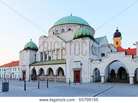 Synagogue In City Trencin