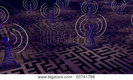 Wireless Background