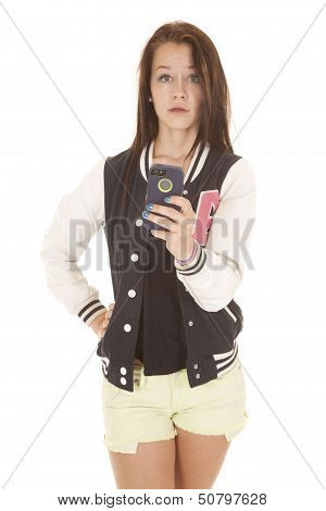 Cell Phone Shocked Teenager