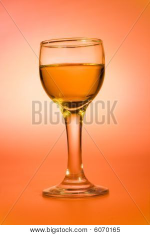 Rum In а Wine Glass