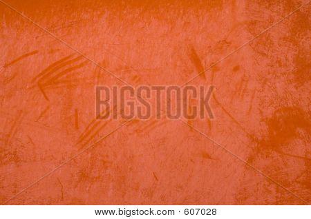 Orange Plaster Grunge