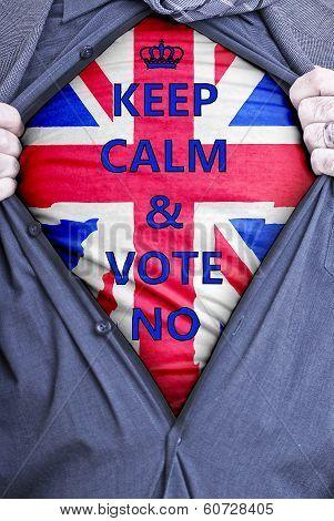 British Businessman Votes No