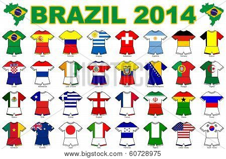 Flag Strip Designs 2014