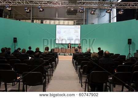 Conference At Mido 2014 In Milan, Italy