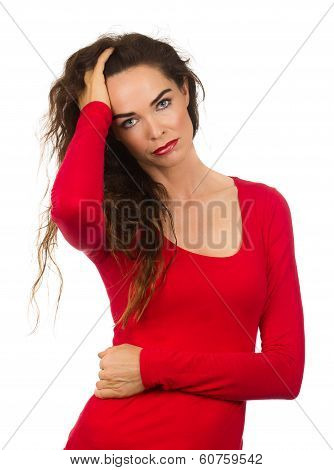 Fed Up Unhappy Woman