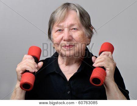 Portrait Of Active Senior Woman