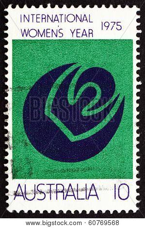 Postage Stamp Australia 1975 Symbols Of Womanhood