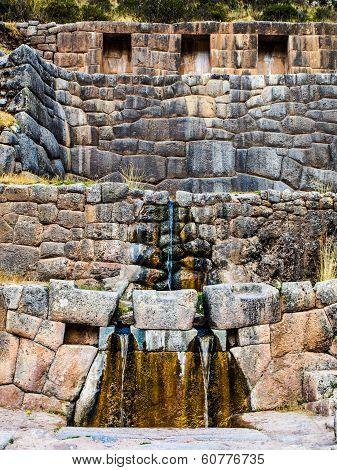 Inca's bath - Tambomachay